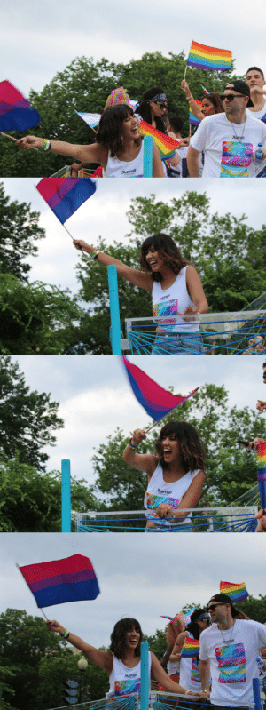dont-be-suspici0us:  My heart warmed up so much when I saw this angel at parade today.  Stephanie Beatriz @ Capital Pride Dupont Circle, June, 9th 2018. : Marriott   Marriott   ott  Narriott dont-be-suspici0us:  My heart warmed up so much when I saw this angel at parade today.  Stephanie Beatriz @ Capital Pride Dupont Circle, June, 9th 2018.