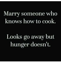 Advice, Gym, and How To: Marry someone who  knows how to cook.  Looks go away but  hunger doesn't @wealthandfitness 😂 sound advice 👌