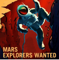"Friends, Future, and Memes: MARS  EXPLORERS WANTED WANNA GO TO SPACE?! Well, check out what NASA released... Mars recruitment posters encouraging people to apply for future missions! Although the first manned missioned to Mars is still a few years away, NASA is already looking for people who would be interested in traveling to the Red Planet. Recently, NASA released eight, retro-style posters recruiting explorers, farmers, surveyors, technicians and teachers. All of the posters are currently available for free download on NASA's website. ""Have you ever asked the question, what is out there? So have we!"" one poster caption reads. ""That curiosity leads us to explore new places like Mars and its moons, Phobos and Deimos. Just what lies beyond the next valley, canyon, crater or hill is something we want to discover with rovers and with humans one day too."" Shoutout to our friends @Tech for the awesome post!"