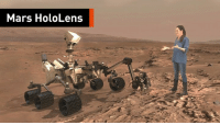 Memes, Ups, and Mars: Mars HoloLens You don't need to sign up for a one-way ticket to the Red Planet to experience Mars. – via Virtuality
