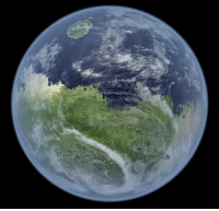 Mars, Water, and Atmosphere: Mars, if it still had a magnetic field, atmosphere and water