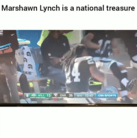lynch is a GOAT 😂 HoodClips: Marshawn Lynch is a national treasure  OAK 35 4TH 12:49 CBS SPORTS lynch is a GOAT 😂 HoodClips