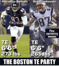 Sorry for being inactive lately, I'll try and start the account up again pats patsnation best brady belichick goat gronk gronkellus gronkspike edelman dionlewis patriots patriotsrevolution minitron BENNETT TWO TDS: Martellus Bennett  Rob Gronkowski  LER  PRO  PATRIOTS  MEMES  TE  TE  273 lbs  THE BOSTON TE PARTY Sorry for being inactive lately, I'll try and start the account up again pats patsnation best brady belichick goat gronk gronkellus gronkspike edelman dionlewis patriots patriotsrevolution minitron BENNETT TWO TDS