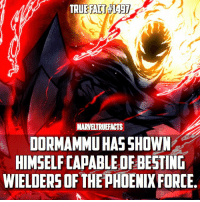 Memes, 🤖, and Wanted: MARTELTRUEFACTS  DORMAMMU HAS SHOWN  HIMSELF CAPABLEDFBESTING  WIELDERS OF THE pHDENIXFORCE. Yet he can't beat a guy who just wanted to bargain..