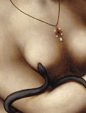 Tumblr, Blog, and Http: marthajefferson:Cleopatra, details, 1524 - 1526, by Giampietrino (Giovanni Pietro Rizzoli)  Oil painting. Bucknell University Art Gallery, Lewisburg, Pennsylvania. High Renaissance.