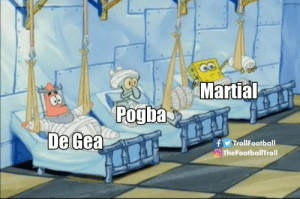 Memes, Martial, and 🤖: Martial  Pogba  De Gea  f TrollFootball  TheFootballTroll Meanwhile at Man Utd https://t.co/LpNlhQsYww