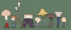 martiantoad:Parade of mushrooms in pants: martiantoad:Parade of mushrooms in pants