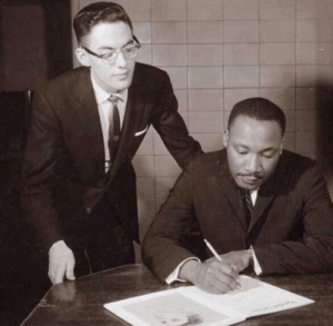 Martin Luther King Jr. writing the first official N-word pass (1962): Martin Luther King Jr. writing the first official N-word pass (1962)