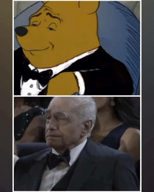 Martin Scorsese is the elegant pooh in real life: Martin Scorsese is the elegant pooh in real life