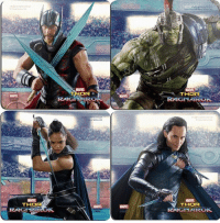 Memes, Hulk, and Marvel: MARVE  THOR  MARVE  MARVA  MARVE  THO  THOR  MARVEL  MARVE  RAG New looks at Thor, Hulk, Valkyrie, and Loki!  (Andrew Gifford)