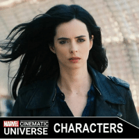 Crime, Finals, and Memes: MARVEL  CHARACTERS  UNIVERSE JESSICA JONES  Portrayed by: - KRYSTEN RITTER (2015-PRESENT)  Appearances: - JESSICA JONES (2015-PRESENT) - THE DEFENDERS (2017)  Jessica Jones is a private investigator from New York City. After she was orphaned at a young age, Jones was taken in by Dorothy Walker, and developed a sisterly bond with her daughter, Trish. During adolescence, Jones discovered she possessed superhuman strength and used her ability in adulthood to fight crime as a superhero. However, a fateful encounter with Kilgrave, a vicious man with mind controlling powers, tarnished her superhero career and she spent a torturous tenure as Kilgrave's slave before finally breaking free of his control. The experience left Jones suffering from post-traumatic stress disorder, prompting her to hang up her secret identity and open her own detective agency.  Trying to remain an average person and keep a low profile, she would take on minor cases for cash, while caught in a spiral of despair and destructive behavior. However, the return of Kilgrave forced her to put aside her traumas and stop him. Jones had multiple grueling encounters with Kilgrave, but with the help of Trish, Jeri Hogarth, and fellow superhuman Luke Cage, Jones finally killed the maniac, conquering her demons and prompting her to continue her superhero career.