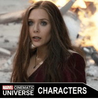 America, Avengers Age of Ultron, and Captain America: Civil War: MARVEL  CHARACTERS  UNIVERSE SCARLET WITCH (WANDA MAXIMOFF)  Portrayed by: - ELIZABETH OLSEN (2014-PRESENT)  Appearances: - CAPTAIN AMERICA: THE WINTER SOLDIER (2014) - AVENGERS: AGE OF ULTRON (2015) - CAPTAIN AMERICA: CIVIL WAR (2016)  Wanda Maximoff is a native of the Eastern European country of Sokovia who grew with her twin brother, Pietro. In an effort to help purge their country of strife, the twins agreed to undergo experiments with the Scepter under the supervision of Wolfgang von Strucker's HYDRA cell, and achieved superpowers as a result, with Wanda attaining various telekinetic, telepathic and energy manipulating abilities. When HYDRA fell, the twins joined the robot Ultron to get their revenge on Tony Stark, but eventually switched sides and joined the Avengers when they discovered Ultron's true intentions. Although Pietro was killed during the ensuing Ultron Offensive, Wanda survived and became a member of the Avengers. During the Avengers Civil War, she sided with Captain America and was briefly imprisoned in the Raft before Rogers freed her along with his teammates.