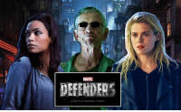 Claire Temple, Stick, and Trish Walker have joined the ever-growing cast of THE DEFENDERS! http://tinyurl.com/zrvw5se  (Brian): MARVEL  DEFENDER  A NETFLIX ORIGINAL SERIES Claire Temple, Stick, and Trish Walker have joined the ever-growing cast of THE DEFENDERS! http://tinyurl.com/zrvw5se  (Brian)