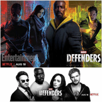 Who is your Favorite Defender ? 🤔 Here's a New Promotional Image of TheDefenders from … EntertainmentWeekly in their New SDCC2017 Issue ! Marvel and Netflix will have a Panel at SDCC again this year, Showing off The Defenders and … ThePunisher ! MarvelCinematicUniverse SanDiegoComicCon 💥 ComicCon MCU: MARVEL  DEFENDERS  NETFLIXAUG 18  MARVE  DEFENDERS  AUG 18  NETFLIX Who is your Favorite Defender ? 🤔 Here's a New Promotional Image of TheDefenders from … EntertainmentWeekly in their New SDCC2017 Issue ! Marvel and Netflix will have a Panel at SDCC again this year, Showing off The Defenders and … ThePunisher ! MarvelCinematicUniverse SanDiegoComicCon 💥 ComicCon MCU