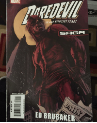 Shoutout to my boy @coolhandluke_comics for sending me this Daredevil Saga for FREE! World Class Dude! Follow him! comic comics comicbook comicsbooks igcomic igcomicfamily daredevil manwithoutfear dd marvel marvelcomics daredevilsaga mattmurdock redsuit superhero superheroes: MARVEL  DIRECT EDITION  O  Q  Go  o  Y WITHOUT FEAR!  SFI GA  ED BRUBAKER Shoutout to my boy @coolhandluke_comics for sending me this Daredevil Saga for FREE! World Class Dude! Follow him! comic comics comicbook comicsbooks igcomic igcomicfamily daredevil manwithoutfear dd marvel marvelcomics daredevilsaga mattmurdock redsuit superhero superheroes