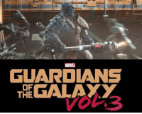 Should Korg and Miek return in GUARDIANS OF THE GALAXY VOL. 3?  (Andrew Gifford): MARVEL  GUARDANS  THEGALAXY  OF Should Korg and Miek return in GUARDIANS OF THE GALAXY VOL. 3?  (Andrew Gifford)