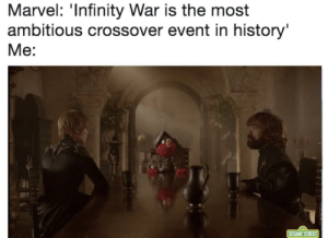 Most Ambitious Crossover
