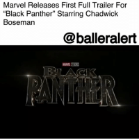 """America, Memes, and Superhero: Marvel Releases First Full Trailer For  """"Black Panther"""" Starring Chadwick  Bosemarn  @balleralert  MARVEL STUODS Marvel Releases First Full Trailer For """"Black Panther"""" Starring Chadwick Boseman – blogged by @MsJennyb ⠀⠀⠀⠀⠀⠀⠀ ⠀⠀⠀⠀⠀⠀⠀ Marvel has unveiled the first full trailer for its highly anticipated film, 'Black Panther.' The film, which features a star-studded cast that is 90% black, will focus on the world of Wakanda, where T'Challa, who is played by ChadwickBoseman, is the new king after his father was assassinated in Marvel's """"Captain America: Civil War."""" ⠀⠀⠀⠀⠀⠀⠀ ⠀⠀⠀⠀⠀⠀⠀ However, in the trailer, it is revealed that Erik Killmonger, the film's fiery villain played by MichaelBJordan, will try to stage a coup and dethrone T'Challa of his new position. ⠀⠀⠀⠀⠀⠀⠀ ⠀⠀⠀⠀⠀⠀⠀ The film, directed by Ryan Coogler, will be the first superhero film with a black solo lead and a predominately black cast, as most of the characters have been white or European. It also gives viewers a chance to see a story from a different point of view, in a different world, with different circumstances and a king. ⠀⠀⠀⠀⠀⠀⠀ ⠀⠀⠀⠀⠀⠀⠀ Black Panther will hit theaters on February 16, 2018."""