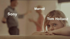 tom holland: Marvel  Sony  Tom Holland