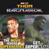 This was too funny not to make.😂 It's been a good weekend thanks to SDCC .👌 What were your thoughts on the ThorRagnarok trailer? ~ Lopro⚡️: MARVEL STUDICS  THOR  RAGNAR  IG: HEROACCESS  THE MOVIE  WHERE  GET  SUPERHEROES SUPERCUTS This was too funny not to make.😂 It's been a good weekend thanks to SDCC .👌 What were your thoughts on the ThorRagnarok trailer? ~ Lopro⚡️