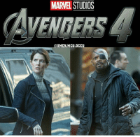 Memes, Avengers, and Marvel: MARVEL STUDIOS  VENGERS  THE  @XMEN.MCU.DCEU Nick Fury & Maria Hill reunite in apparent AVENGERS 4 set photos!  (Andrew Gifford)