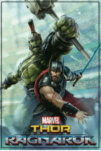 Memes, 🤖, and Art: MARVEL  THOR Promotional art for THOR: RAGNAROK has been released!!!  (Tim Costello)