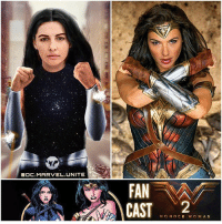 Future, Memes, and Movies: MARVEL UNITE  FAN  CAST  WONDER WOMAN Do you want to see WonderGirl ( DonnaTroy) Appear in a WonderWoman Sequel ? 🤔 My FanCast would be The PinkRanger… NaomiScott ! 🙌🏽 Hopefully DC Introduces The JusticeLeague's SideKicks in Future DCEU Movies, like AquaLad, KidFlash, Robin and SuperBoy…and then we could get a Spinoff TeenTitans Movie ! But Comment Below your Thoughts and what you want to see in WonderWoman2 ! DCExtendedUniverse 💥 DCFilms 😍 Artist : @ddotartwork 👏🏽 Go Follow Him !