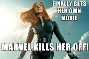 marvels first strong female lead. : marvels first strong female lead.