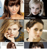 Which One Your Celeb Crush? View full ->  http://9lmao.com/shot/826: Mary elizabeth WinsteadMargot Robbie  Chloe Grace Moretz  Felicity Jones  Scarlett  Johansson Which One Your Celeb Crush? View full ->  http://9lmao.com/shot/826