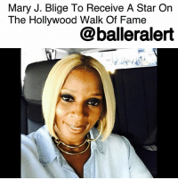 "MaryJBlige to Receive a Star On The Hollywood Walk Of Fame - blogged by @MsJennyb ⠀⠀⠀⠀⠀⠀⠀ ⠀⠀⠀⠀⠀⠀⠀ Mary J. Blige will be adding a new honor to her long list of achievements next week, as her name will be forever immortalized on Hollywood Boulevard. ⠀⠀⠀⠀⠀⠀⠀ ⠀⠀⠀⠀⠀⠀⠀ According to Variety, the songstress will receive a star on the Hollywood Walk of Fame, which will be unveiled on January 11, the singer's birthday. Diddy will also take part in the ceremony. ⠀⠀⠀⠀⠀⠀⠀ ⠀⠀⠀⠀⠀⠀⠀ ""Mary J. Blige is one of the most popular singers of our generation. Fans will be thrilled to see her star on the Boulevard as her career milestones are celebrated on this very famous sidewalk,"" the producer of the Walk of Fame ceremonies said of the songstress. ⠀⠀⠀⠀⠀⠀⠀ ⠀⠀⠀⠀⠀⠀⠀ Although Blige's star will be placed in the recording category, she will also be recognized for her performance as an actress in the days prior. On January 7, Blige will attend the Golden Globes, as she has been nominated for her impressive role in ""Mudbound."" ⠀⠀⠀⠀⠀⠀⠀ ⠀⠀⠀⠀⠀⠀⠀ Congratulations to Mary J.: Mary J. Blige To Receive A Star On  The Hollywood Walk Of Famee  @balleralert MaryJBlige to Receive a Star On The Hollywood Walk Of Fame - blogged by @MsJennyb ⠀⠀⠀⠀⠀⠀⠀ ⠀⠀⠀⠀⠀⠀⠀ Mary J. Blige will be adding a new honor to her long list of achievements next week, as her name will be forever immortalized on Hollywood Boulevard. ⠀⠀⠀⠀⠀⠀⠀ ⠀⠀⠀⠀⠀⠀⠀ According to Variety, the songstress will receive a star on the Hollywood Walk of Fame, which will be unveiled on January 11, the singer's birthday. Diddy will also take part in the ceremony. ⠀⠀⠀⠀⠀⠀⠀ ⠀⠀⠀⠀⠀⠀⠀ ""Mary J. Blige is one of the most popular singers of our generation. Fans will be thrilled to see her star on the Boulevard as her career milestones are celebrated on this very famous sidewalk,"" the producer of the Walk of Fame ceremonies said of the songstress. ⠀⠀⠀⠀⠀⠀⠀ ⠀⠀⠀⠀⠀⠀⠀ Although Blige's star will be placed in the recording category, she will also be recognized for her performance as an actress in the days prior. On January 7, Blige will attend the Golden Globes, as she has been nominated for her impressive role in ""Mudbound."" ⠀⠀⠀⠀⠀⠀⠀ ⠀⠀⠀⠀⠀⠀⠀ Congratulations to Mary J."
