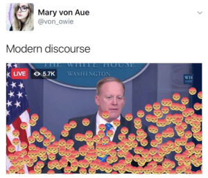 Beautiful, Target, and Tumblr: Mary Von Aue  @von_owie  Modern discourse  LIVE 5.7K WASHINGTON  WH  GoV stability:  this is beautiful