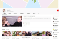 Community, Hello, and Instagram: Marzia  7,487,147 subscribers  SUB  HOME  VIDEOS  PLAYLISTS  COMMUNITY  CHANNELS  ABOUT  TOUCH MY BODY CHALLENGE  802,516 views 5 months ago  BOYFRIEND OR TWIN BROTHER!? leave a comment below letting me know your favorite part! can we  get to 20k likes?? thanks  CHANNELS I LIKE:  PewDiePie  SUBSCRIBE  Emma Pickles  WHERE TO FIND ME  Tweet me @MarziaPie  Instagram: itsmarziapie  READ MORE  SUBSCRIBE  LaMadelynn  SUBSCRIBE  Uploads PLAY ALL  KickThePi  SUBSCRIBE  grav3yardgirl  SUBSCRIBE  PRINCESS  6:51  8:44 CAKE  :05  Jenn Im  Melix Plays: YOSHI'S STORY  258K views 4 days ago  A casual haul  AUGUST NOTES I First time  trying on wedding dresses  1.4M views 2 weeks ago  Hello, Budapest.  548K views 3 weeks ago  Making a Princess Cake  1M views 1 month ago  285K views 1 week ago  SUBSCRIBE