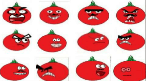 Mascot. Tom the Tomato. I made him a while back and just learned about this mascot contest. I have some different pictures if him with different emotions. He has mustache, but I left it out on some of these images. He is a tomato, who is based on the Tomato head skin from Fortnite. Opinions welcome.: Mascot. Tom the Tomato. I made him a while back and just learned about this mascot contest. I have some different pictures if him with different emotions. He has mustache, but I left it out on some of these images. He is a tomato, who is based on the Tomato head skin from Fortnite. Opinions welcome.