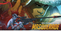 Overwatch's new Doomfist comic is out now ahead of the characters official release on July 27. You can read it here: https://t.co/b7GRo9XqAD https://t.co/INBVAJjEBS: MASQUERADE  NEW OVERWATCH COMIC  MASAUERADE Overwatch's new Doomfist comic is out now ahead of the characters official release on July 27. You can read it here: https://t.co/b7GRo9XqAD https://t.co/INBVAJjEBS