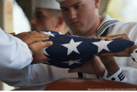 U.S. Navy Machinist's Mate 1st Class Arthur Glenn was laid to rest Tuesday after being killed during the attack on Pearl Harbor. Glenn, who was assigned to the USS Oklahoma, which capsized on December 7, 1941, is the 100th Oklahoma sailor to be identified through DNA analysis.: Mass Communication Specialist 2nd Class Seth Coulter/DVIDS U.S. Navy Machinist's Mate 1st Class Arthur Glenn was laid to rest Tuesday after being killed during the attack on Pearl Harbor. Glenn, who was assigned to the USS Oklahoma, which capsized on December 7, 1941, is the 100th Oklahoma sailor to be identified through DNA analysis.