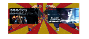 Netflix: Mass Effect Series. I would like to start this campaign. We have the technology. It can be done! But we will need over 5000 EMS. Help me make this loud enough.: MASS  NETFLIX  E F F E C T.  TRIL O G Y  BLACK  MIRROR:  BANDERSNATCH  MASS  MARSE  MASSE Netflix: Mass Effect Series. I would like to start this campaign. We have the technology. It can be done! But we will need over 5000 EMS. Help me make this loud enough.