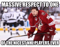 Future, Logic, and Memes: MASSIVE RESPECT TO ONE  RIOR  nhl ref logic  OF THE NICEST NHLPLAVERSETER The Coyotes will not resign Shane Doan next season. I've never liked the team but I've always respected Shane as a great player for sticking with Arizona through thick and thin. Good luck to him in his future endeavors