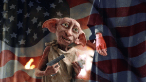 Master has given Dobby a glock, Dobby is FREE: Master has given Dobby a glock, Dobby is FREE