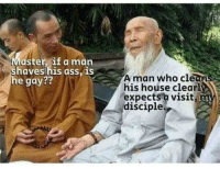 Ass, I Bet, and House: Master if a marn  aves his ass, IS  e gay??  A man who clean  his hoúse clearly  expects a visit  disciple.  TL I bet you five Vbucks this isn't hitting hot.