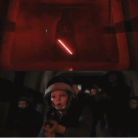 Master Skywalker, there are too many of them, what are we going to do?: Master Skywalker, there are too many of them, what are we going to do?