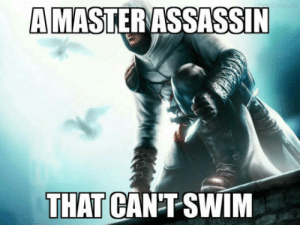 Logic, Altair, and Swim: MASTERASSASSIN  THAT CANT SWIM Altair logic