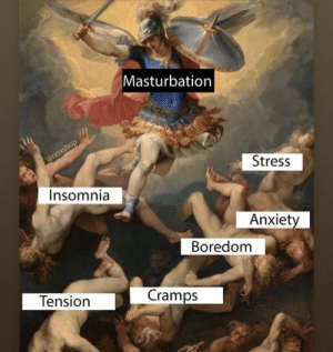 Lmaaaao: Masturbation  @noxshop  Stress  Insomnia  Anxiety  Boredom  Cramps  Tension Lmaaaao