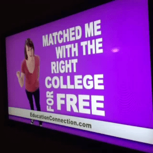 deejay: literally me.: MATCHED ME  WITH THE  RIGHT  COLLEGE  FREE  EducationConnection.com deejay: literally me.