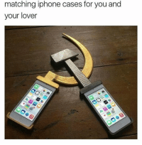 Iphone, Marxist, and You: matching iphone cases for you and  your lover