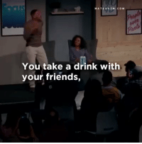 Friends, Funny, and Goals: MATEUSZ M. COM  You take a drink with  your friends, Will Smith out here dropping gems  for people with life goals https://t.co/BLxu5ME1U4