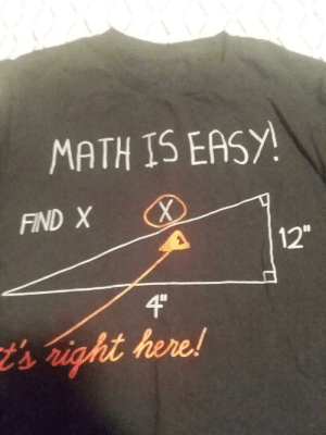 The way that 4 inches is longer than 12 inches: MATH IS EASY!  FIND X  12  4C  sright here! The way that 4 inches is longer than 12 inches