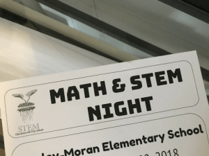 memehumor:  What does the M in STEM stand for?: MATH & STEM  NIGHT  STEM  Charlottesville City Schools  Moran Elementary School  2018 memehumor:  What does the M in STEM stand for?