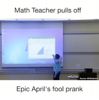 Beautiful, Crazy, and Food: Math Teacher pulls off  Source: MDWeathers  Epic April's fool prank Love this Follow: @Crelube ⠀⠀⠀⠀ ⠀@Crelube ⠀⠀⠀⠀ ⠀⠀ ⠀⠀⠀⠀⠀ ⠀⠀🔛FOLLOW 🙈 @Crelube 🙈 ⠀⠀⠀⠀ ⠀⠀⠀⠀⠀⠀ALSO ⠀ 🙉 @Crelube 🙉 ⠀ ⠀⠀ ⠀ ⠀ ⠀ ⠀ ⠀ ⠀⠀⠀⠀⠀ 🙊 @Crelube🙊 ⠀⠀⠀⠀ ⠀ ⠀⠀⠀⠀ DOUBLE TAP ❤️ TAG YOUR FRIENDS ✔️ ⠀⠀⠀⠀ .. amazing life adventure people men boys girls crazy lovely time beauty beautiful speed girl food water adrenaline animal nature fitness