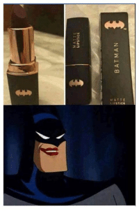 Arrow, Comics, and Green Arrow: MATTE  LIPSTICK When you are Vengeance but you also need to look fabulous!   🏹-Green Arrow  #GothamCityMemes