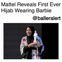 "Barbie, Girls, and Instagram: Mattel Reveals First Ever  Hijab Wearing Barbie  @balleralert Mattel Reveals First Ever Hijab Wearing Barbie-blogged by @thereal__bee ⠀⠀⠀⠀⠀⠀⠀⠀⠀ ⠀⠀ As part of Mattel's ""Shero"" program, Barbie has just released a new hijab-wearing doll. ⠀⠀⠀⠀⠀⠀⠀⠀⠀ ⠀⠀ The doll is inspired by American-Muslim Olympic fencer, Ibtihaj Muhammad, who made history as the first American athlete to compete in the Olympics with a hijab. ⠀⠀⠀⠀⠀⠀⠀⠀⠀ ⠀⠀ ""The Barbie Shero Program recognizes women who break boundaries to inspire the next generation of girls and I am so excited to join this incredible group of women,"" Muhammad said in a post on Instagram. ⠀⠀⠀⠀⠀⠀⠀⠀⠀ ⠀⠀ ""I'm proud to know that little girls everywhere can now play with a Barbie who chooses to wear hijab! This is a childhood dream come true."" ⠀⠀⠀⠀⠀⠀⠀⠀⠀ ⠀⠀ The doll was presented Monday by Glamour magazine at the Women of the Year summit in New York City. ⠀⠀⠀⠀⠀⠀⠀⠀⠀ ⠀⠀ ""Ibtihaj Muhammad has challenged every stereotype — which to me is the definition of a modern American woman,"" Glamour's Editor-in-Chief, Cindi Leive, said in a statement. ⠀⠀⠀⠀⠀⠀⠀⠀⠀ ⠀⠀ ""Barbie is celebrating Ibtihaj not only for her accolades as an Olympian, but for embracing what makes her stand out,"" Barbie's vice-president of marketing, Sejal Shah Miller, said in a statement. ""Ibtihaj is an inspiration to countless girls who never saw themselves represented. By honoring her story, we hope this doll reminds them that they can be and do anything."""